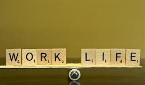 Picture of work and life in balance