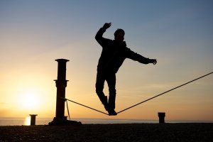 Walking a tightrope - salesman and pastor