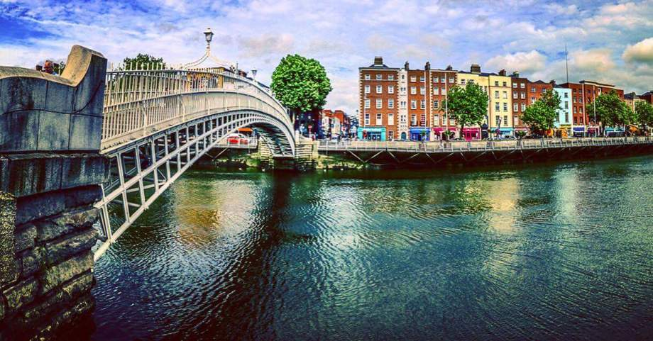 Ha-Penny Bridge Dublin